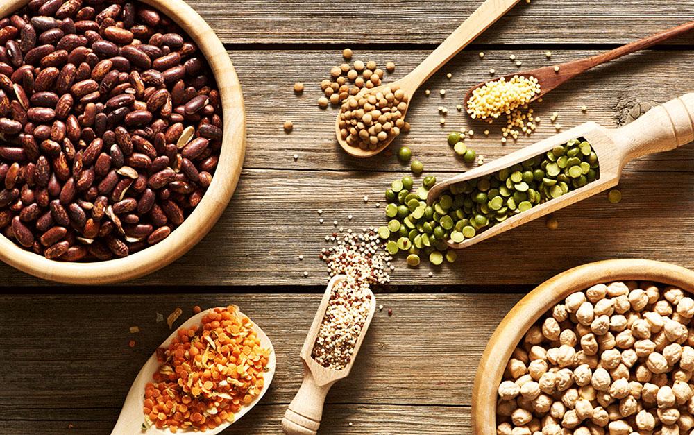 bontà legumi e cereali