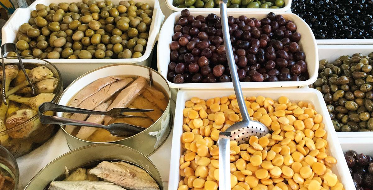 Olive e sottoli