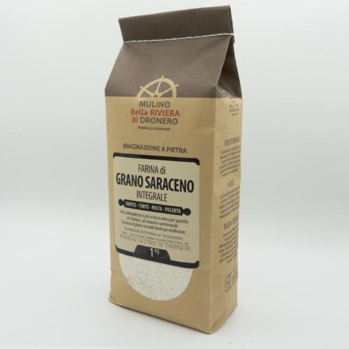 Farina di grano saraceno integrale