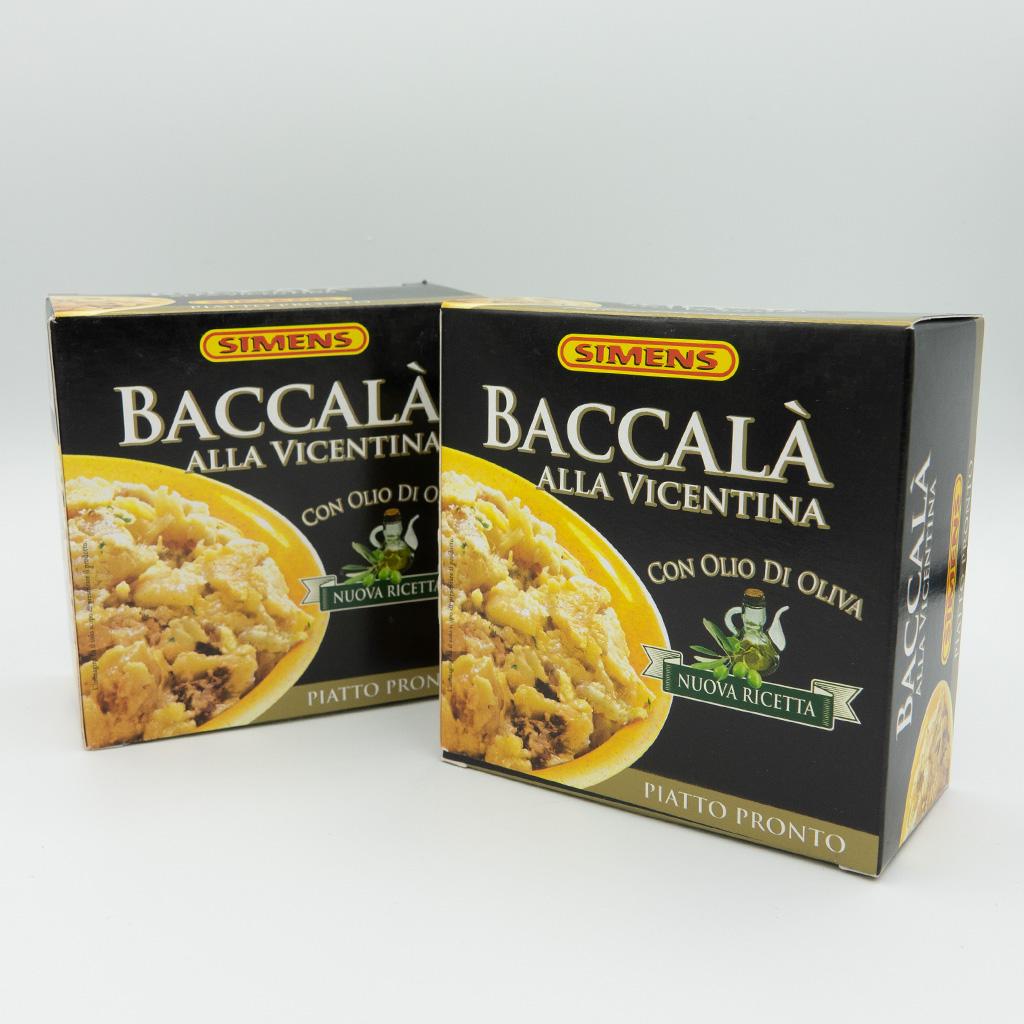 Baccalà alla vicentina (290 gr)