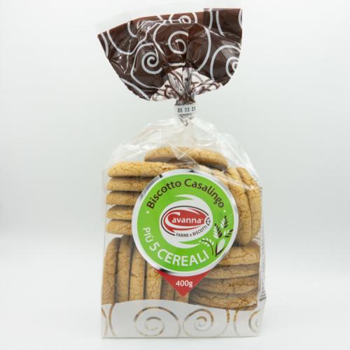 Biscotto casalingo + 5 cereali