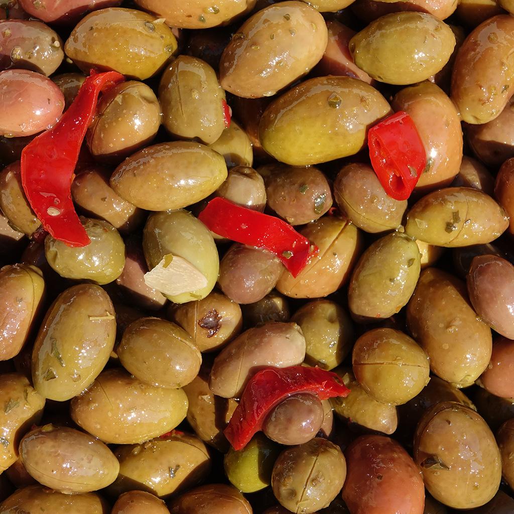 Olive calabresi piccanti