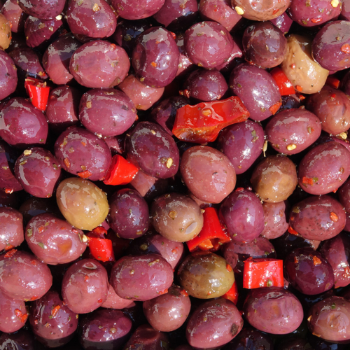 Olive nere piccanti siciliane