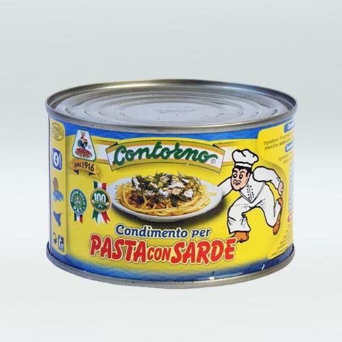 Condimento per pasta con sarde