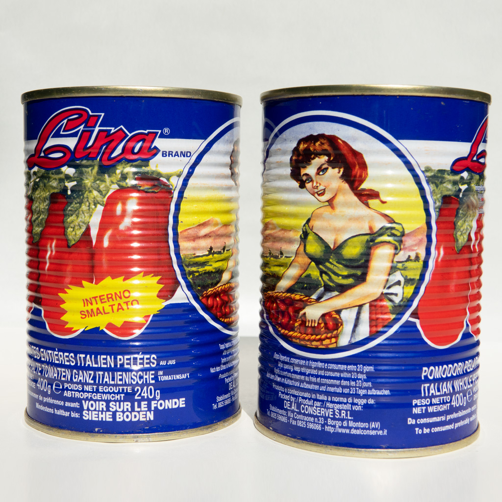 Pomodori pelati Lina (400 gr)